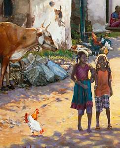 Pin by EV EMV on Mural examples for village life in India ...