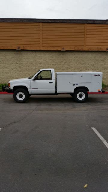 old car owners manuals 1993 gmc 3500 on board diagnostic system super nice 1 owner custom gmc 1 ton 4x4 utility 454 5 speed manual nicely done classic gmc