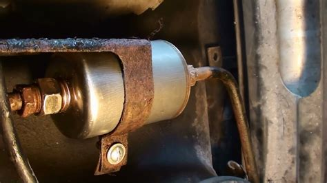 1989 Mustang Fuel Filter by Changing Fuel Filter 1987 Pontiac Trans Am