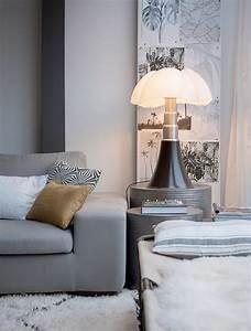 Lampe Italienne Pipistrello : maison cosy en black white visitedeco ~ Farleysfitness.com Idées de Décoration