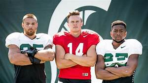 Bachie, Lewerke and Willis Named 2018 Team Captains - MSUFPA