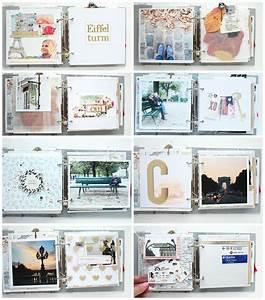 Fotoalbum Erstellen Online : mini album paris details 2 steffi ried scrapbooking ~ Lizthompson.info Haus und Dekorationen