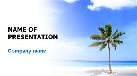 summer vacations powerpoint template big apple templates