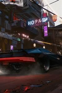 壁纸 赛博朋克2077,超级跑车,速度,城市,日本 3840x2160 UHD 4K 高清壁纸, 图片, 照片