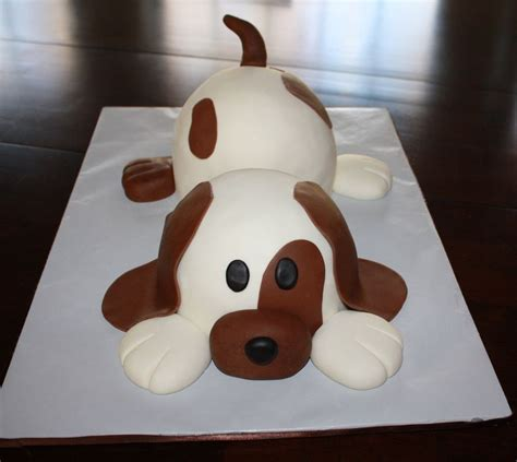 cake  totally inspired   wonderful puppy