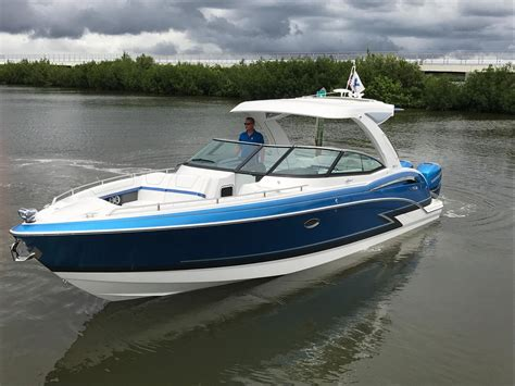 What Is A Bowrider Boat by 2018 Formula 350 Crossover Bowrider Power Boat For Sale