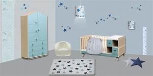 Decoration Nuage Chambre Bébé : decoration chambre bebe etoiles visuel 4 ~ Teatrodelosmanantiales.com Idées de Décoration