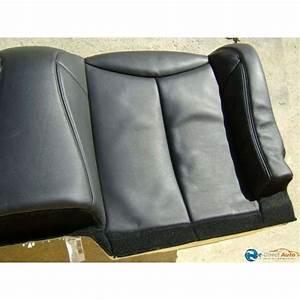 Banquette Cuir Noir : banquette arriere cuir noir peugeot 308 cc ~ Premium-room.com Idées de Décoration