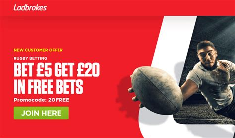 Bet £5 On Rugby Union & Get £20 In Free Bets From ...