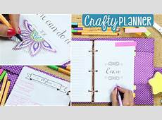 ¡Cumple tus objetivos con esta agenda! Crafty Planner