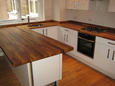 ideas for kitchen worktops wooden worktop for kitchens ward log homes