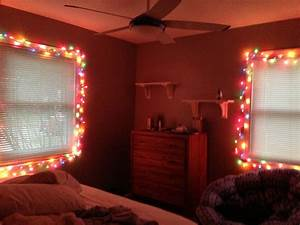 White, Strand, Rainbow, Lights, In, Bedroom, Love, Christmas, Time
