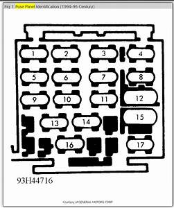 1995 Buick Lesabre Fuse Panel Diagram