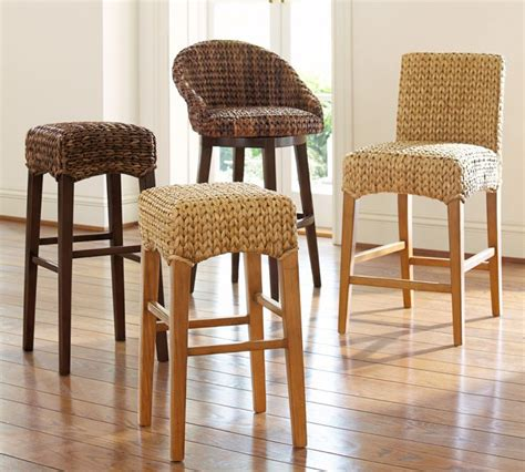 pottery barn seagrass bar stools seagrass bar stools roselawnlutheran 7568