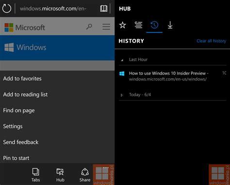 new windows 10 mobile build 10134 screenshots surface