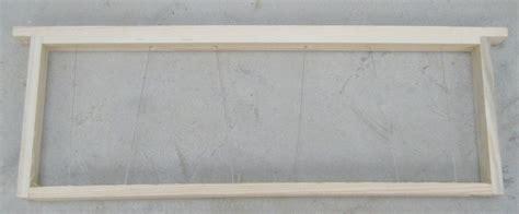cadre de hausse dadant cadre dadant de hausse mont 233 fil 233 garni de cire gaufr 233 e domapi