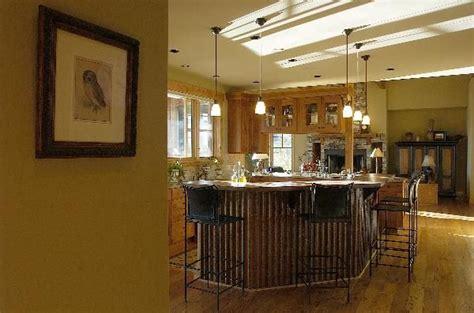 corrugated metal kitchen island bridger steel gt projects gt portfolio gt portfolio projects 5883