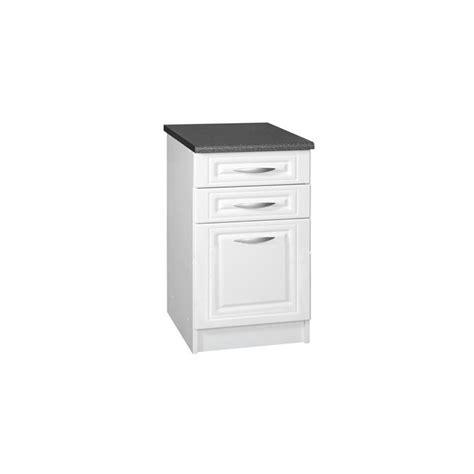 meuble cuisine casserolier meuble de cuisine casserolier bas 3 tiroirs 80 cm dina en