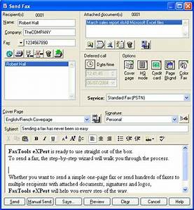faxtools expert 8 avanquest With fax a document over the internet