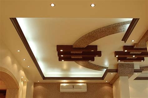 Drop Light by 30 Gorgeous Gypsum False Ceiling Designs To Consider For