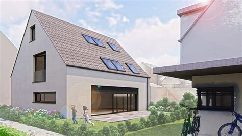 Zwei Einfamilienhaeuser In Stuttgart neubau zweier einfamilienh 228 user in stuttgart zuffenhausen