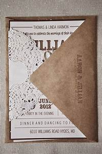1000 ideas about doily invitations on pinterest laser With laser cut wedding invitations montreal