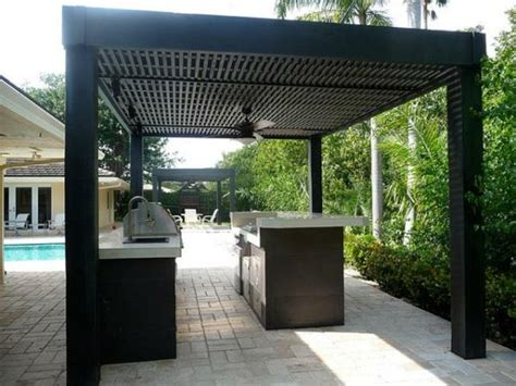 contemporary outdoor kitchens cuisine ext 233 rieure 233 t 233 50 exemples modernes 2541