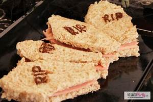 Recette Apéro Halloween : pour r ussir votre ap ritif d natoire halloween une recette de sandwichs en forme de cercueil ~ Melissatoandfro.com Idées de Décoration