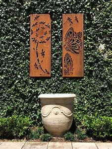 corten steel panels handcrafted by me using a plasma With what kind of paint to use on kitchen cabinets for plasma cut metal wall art