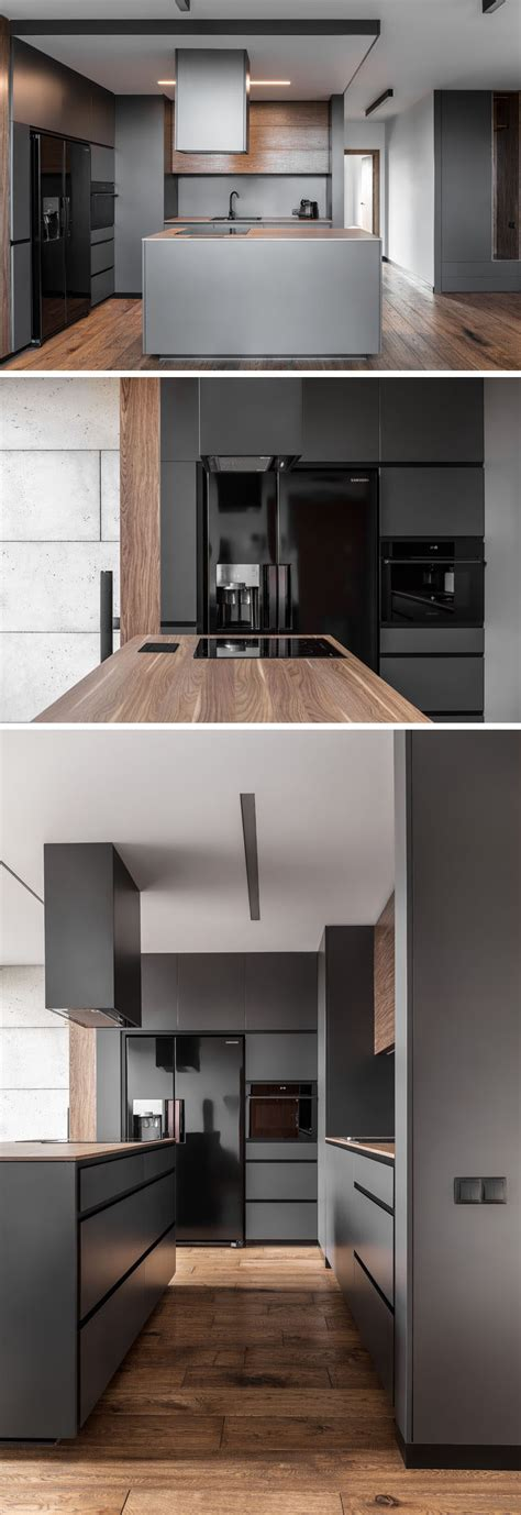 apartments palette  full  greys black  wood