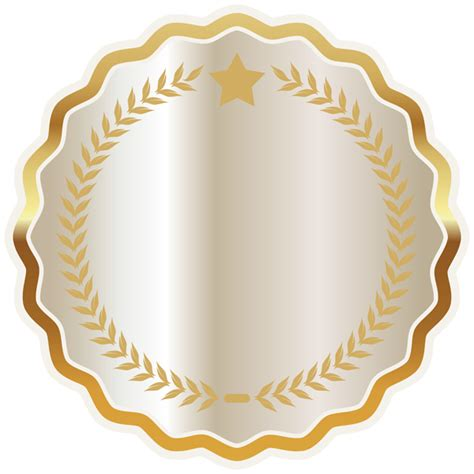 Badge Png by White Seal Badge Png Clipart Image Gallery Yopriceville