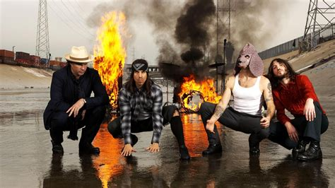 Download Wallpaper 1920x1080 Red Hot Chili Peppers Fire