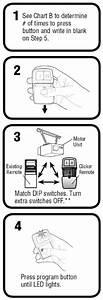 How To Program The Chamberlain Garage Door Remote Klik1u