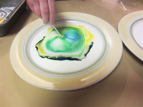 boys  tip  milk dish soap  food coloring