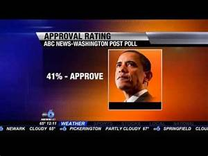 Poll: President Obama's Approval Rating Hits All-Time Low ...