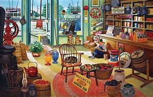 Russel's General Store Jigsaw Puzzle
