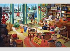 Russel's General Store Jigsaw Puzzle PuzzleWarehousecom