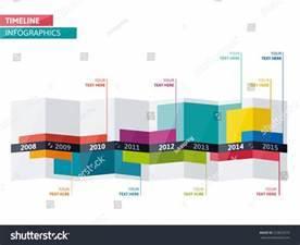 Timeline Infographic Vector Cv Resume Business Stock