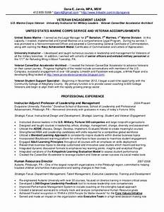 2013 jarvis resume veteran engagement leader for Employee engagement manager resume