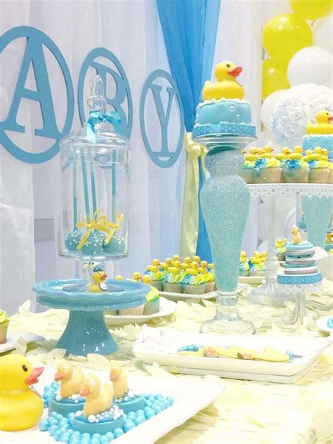 ducky baby shower decorations rubber ducky baby shower baby shower ideas themes