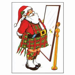 Scottish Christmas Gifts Pipe Music Christmas Cards