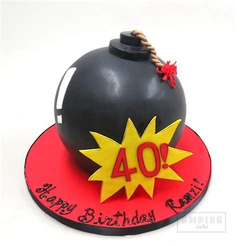 birthday bomb empire cake
