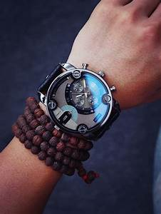 Customer List Fashion Watches Men Big Dial Luxury Special Design Cool