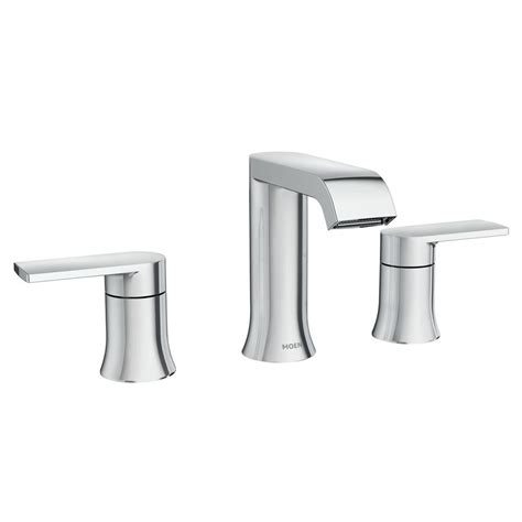 moen genta   widespread  handle bathroom faucet