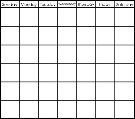calender outline search results for week calendar template monday friday
