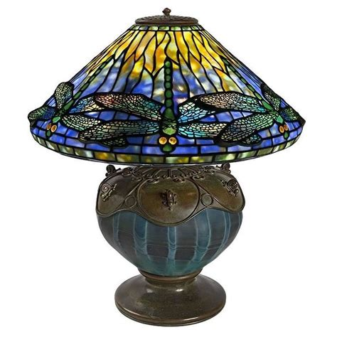 tiffany dragonfly table l tiffany studios quot dragonfly quot table l at 1stdibs
