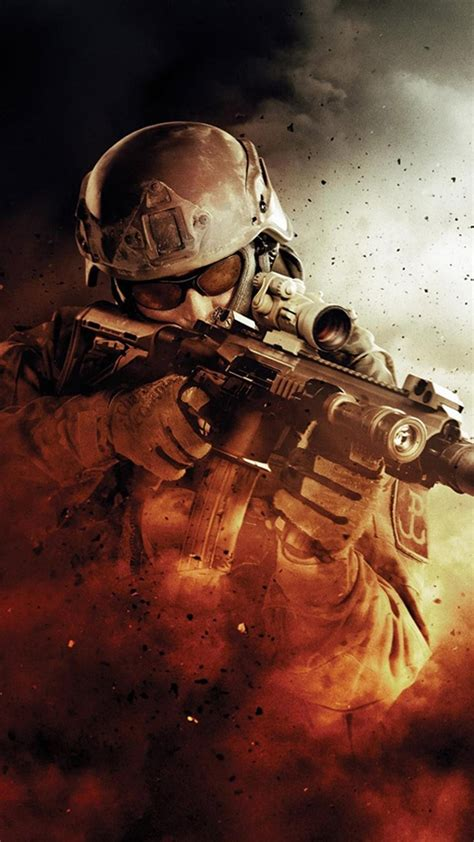 soldier modern warfare htc one wallpaper best htc one