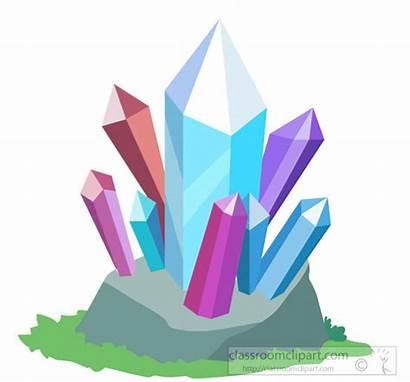 Clipart Minerals Gems Crystals Clip Graphics