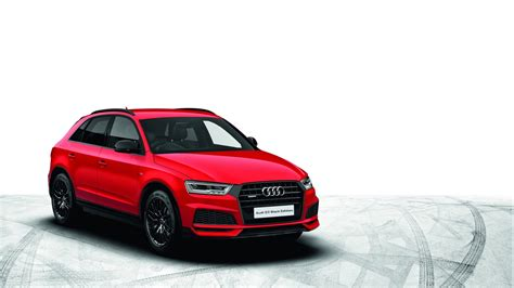 audi releases a raft of black edition models for the uk