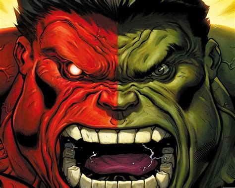 red hulk  green hulk cartoon animation film selected